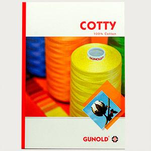 Farbkarte COTTY