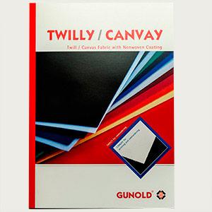 Farbkarte TWILLY/CANVAY
