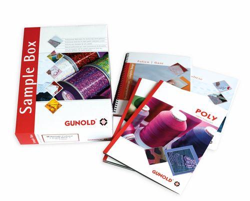 Material/Colour Card Box - französisch/spanisch